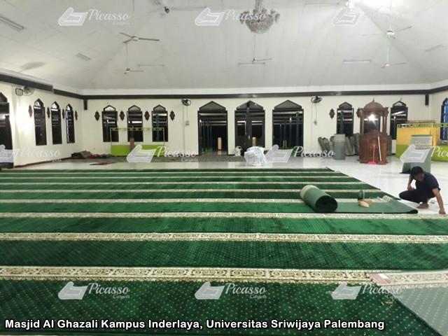 Masjid Al Ghazali Kampus Inderlaya, Universitas Sriwijaya Palembang8