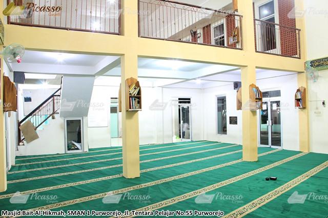 Masjid Al-Hikmah SMAN Purworejo 4