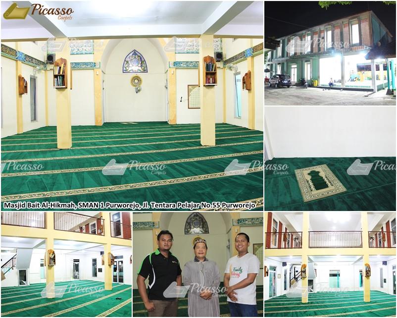 Masjid Al-Hikmah SMAN Purworejo Jl Tentara Pelajar No 55 Purworejo