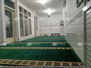 Masjid Al Ikhlas Jl.Panglima Sudirman Griya Kebonjaya, Kebonagung Purworejo - Pasuruan