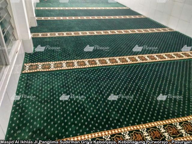 Masjid Al Ikhlas Jl.Panglima Sudirman Griya Kebonjaya, Kebonagung Purworejo - Pasuruan2