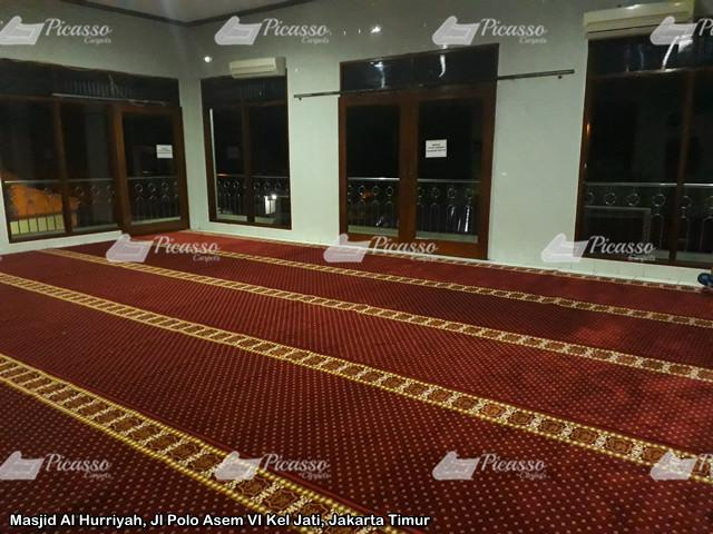 Masjid Al Hurriyah, Jl Polo Asem VI Kel Jati, Jakarta Timur2