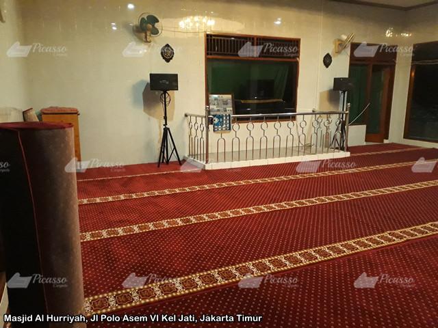 Masjid Al Hurriyah, Jl Polo Asem VI Kel Jati, Jakarta Timur3