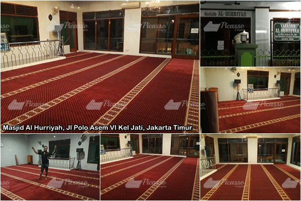 Masjid Al Hurriyah, Jl Polo Asem VI Kel Jati Kota, Jakarta Timur