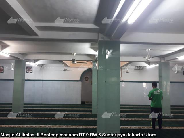 Masjid Al-Ikhlas Jl Benteng Masnam RT 9 RW 6 Sunterjaya Jakarta Utara