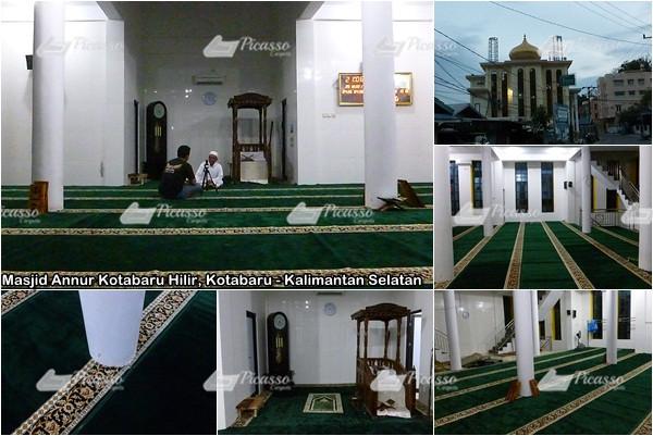 Masjid Annur Kotabaru Hilir, Kotabaru Kalimantan Selatan