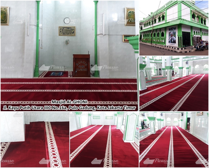MASJID AL GHONI, Jl Kayu Putih Utara, Pulogadung – JAKARTA TIMUR