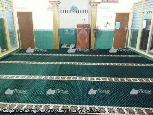 Masjid Tawakal Nglarang Tlogoadi Sleman Yogyakarta 7