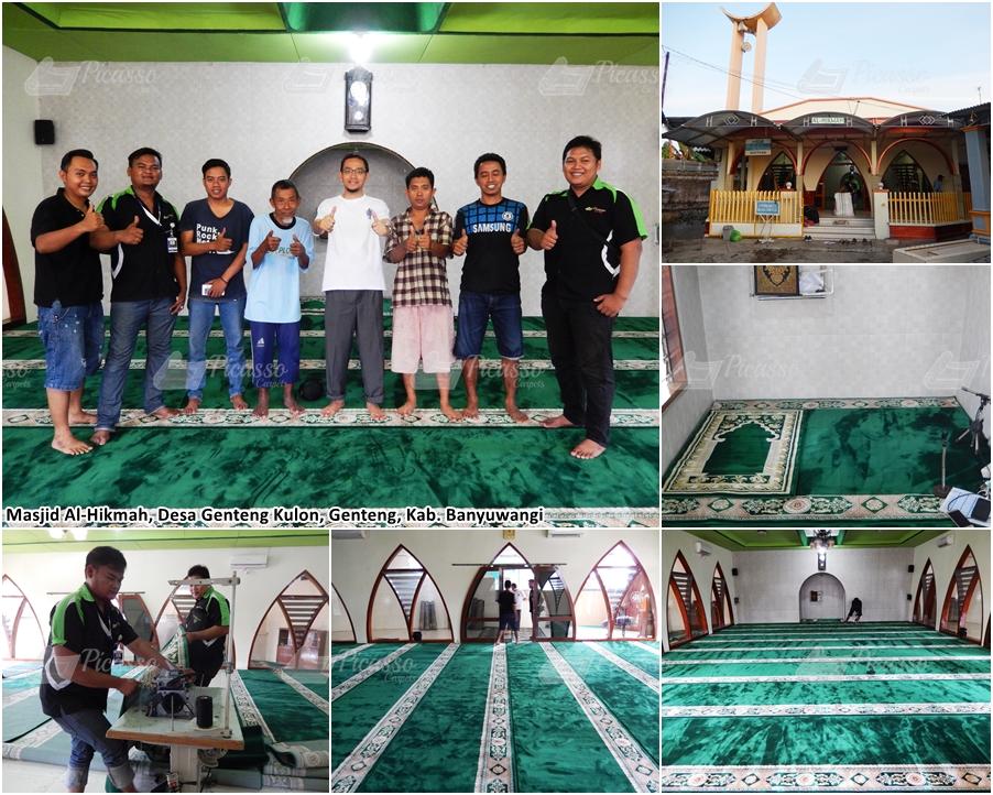 Masjid Al-Hikmah Genteng Kulon Banyuwangi