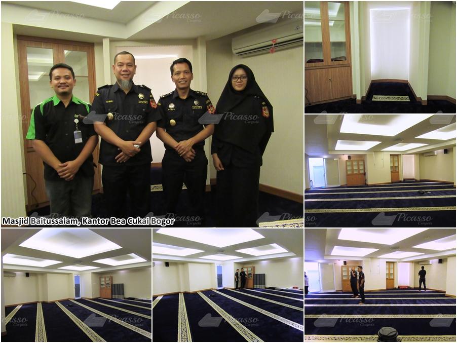 Masjid Baitussalam Kantor Bea Cukai Bogor
