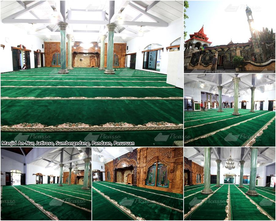 Masjid An Nur Jatiroso, Sumbergedang, Pandaan Pasuruan
