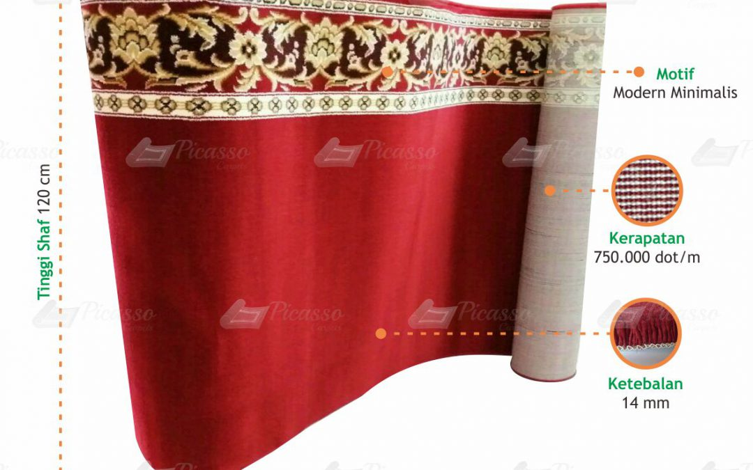 Review Karpet Masjid Turkey Minimalis B+
