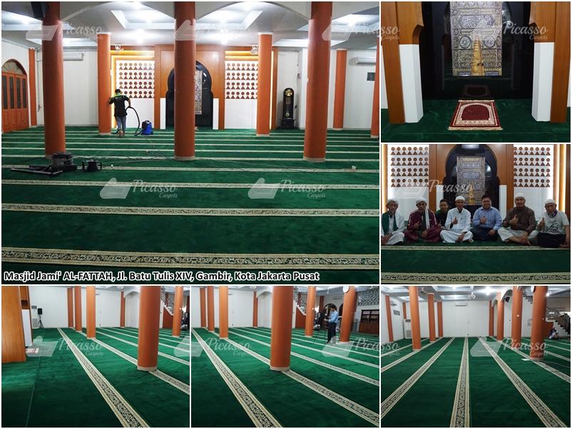 Masjid Jami Al Fattah Gambir, Jakarta Pusat