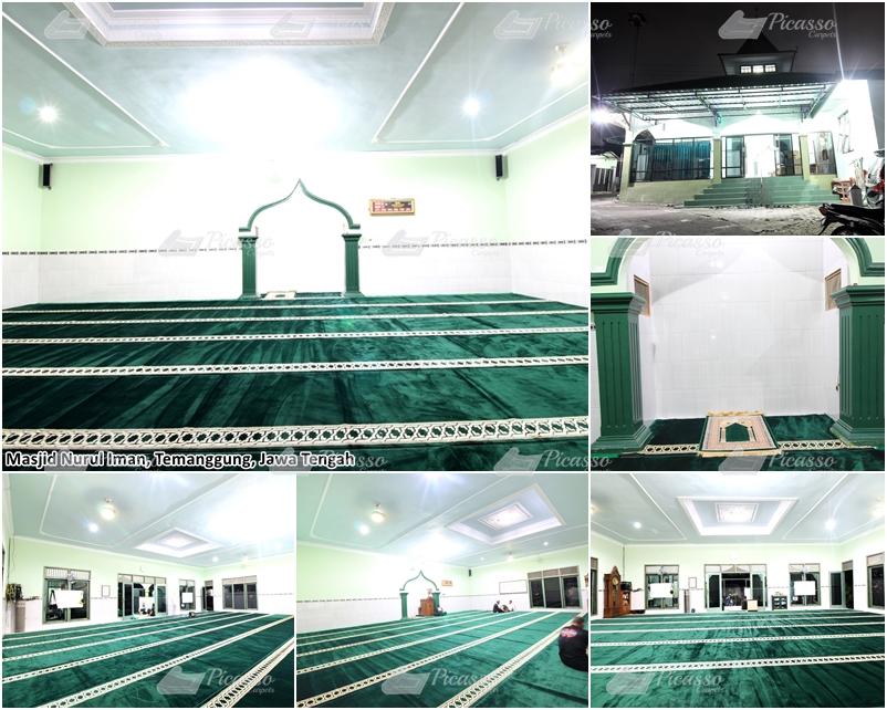 Masjid Nurul Iman Temanggung Jawa Tengah
