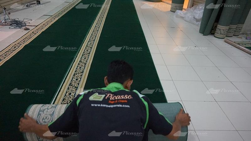 Proyek Setting Masjid Baitussalam Ketapang – Kalimantan