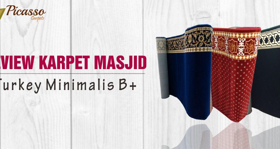 Review Karpet Masjid Turkey Minimalis B+