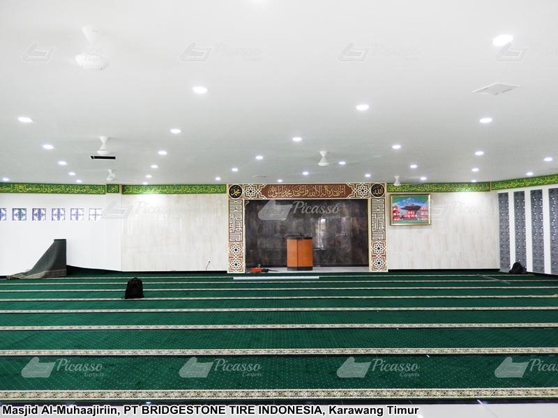 Masjid Al-Muhajirin PT Bridgstone Tire Indonesia – Karawang