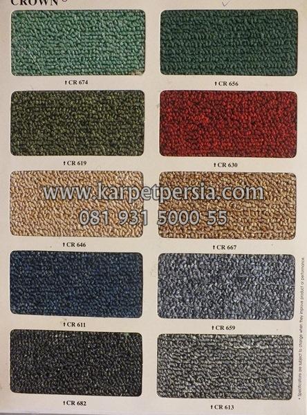 Karpet crown, karpet meteran, karpet kantor, karpet tebal, karpet murah