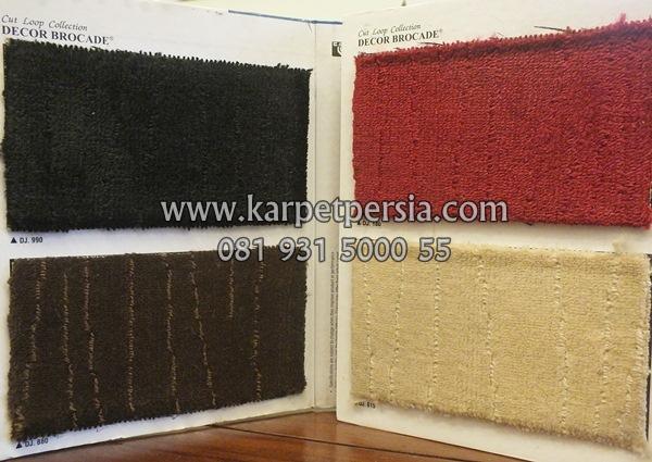 Karpet decor brocade, karpet meteran, karpet kantor, karpet tebal, karpet murah