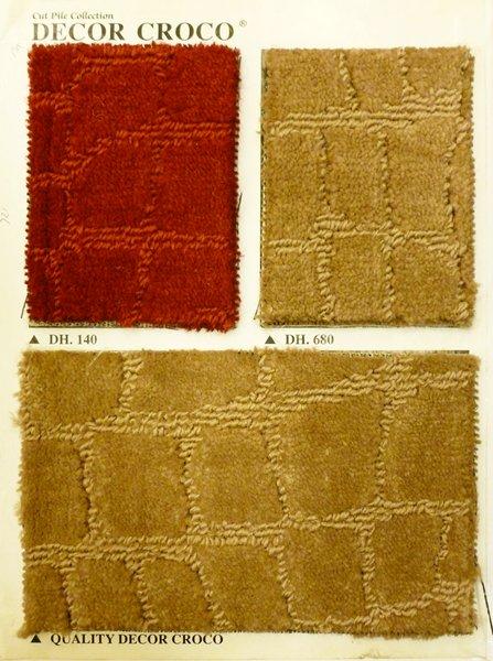 Karpet meteran Decor croco, karpet customized, karpet kantor, karpet hotel, karpet lobby