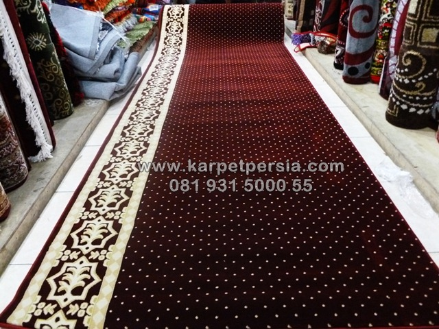 karpet sajadah masjid polos minimalis jakarta