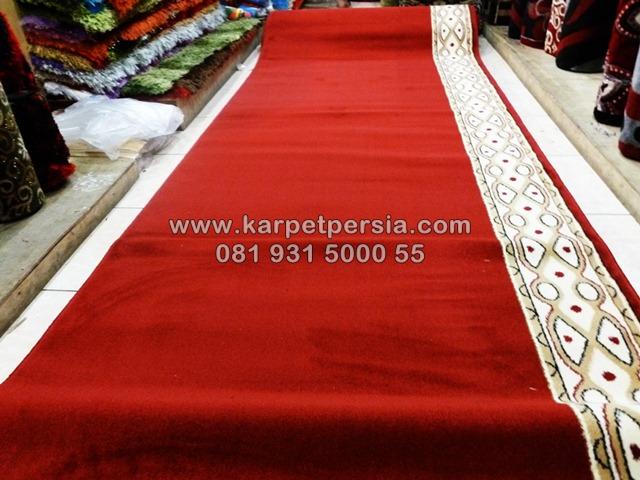 Karpet masjid murah minimalis merah jaya pura