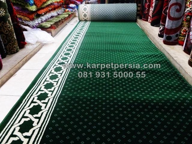 Karpet masjid polos minimalis hijau murah jakarta