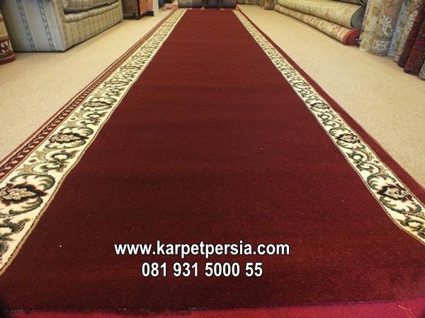 karpet sajadah masjid murah merah maroon