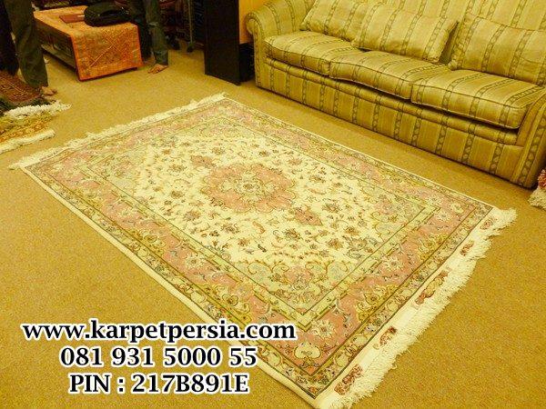 Persian Tabriz, Persian rug Handmade, Oriental rug, silk rug, karpet sutra, karpet hand knot, permadani handmade terbaik