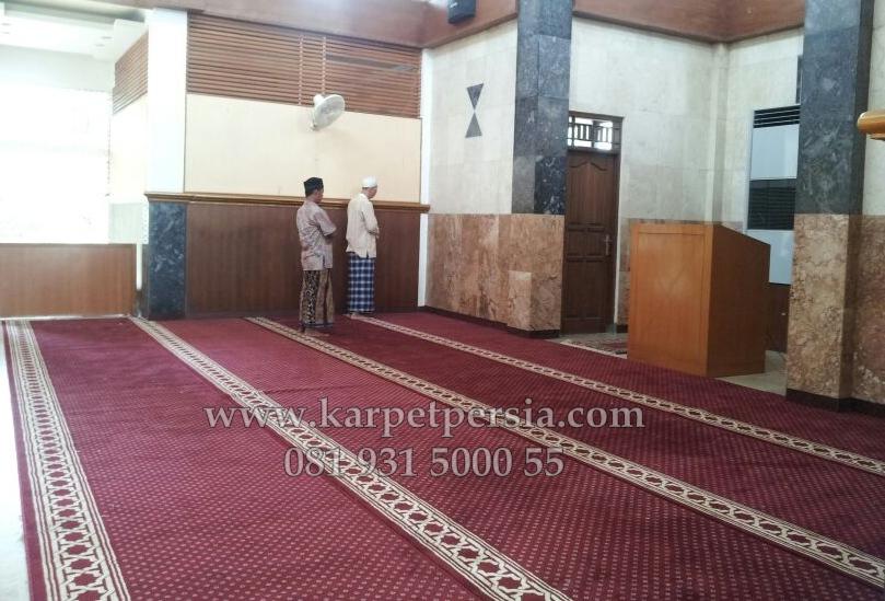 Karpet sajadah masjid, karpet masjid, karpet musholla, sajadah karpet, karpet murah