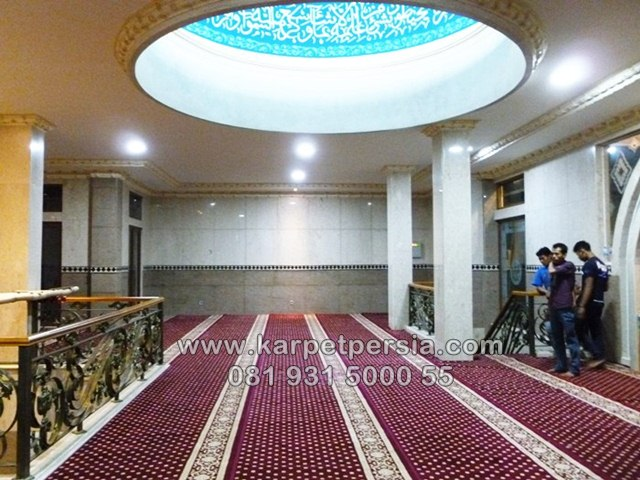 Sajadah Karpet, Karpet sajadah musholla, Shaff Roll