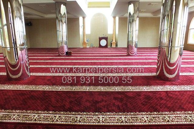 Karpet Sajadah Polos Minimalis Karpet Masjid Masa Kini