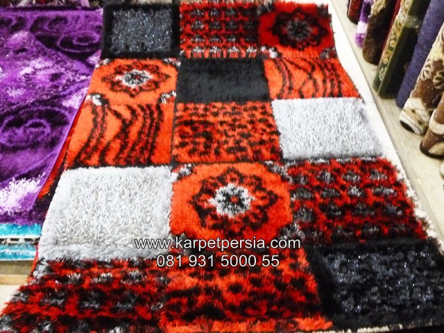 karpet bulu, karpet shaggy bulu, karpet shaggy turki modern