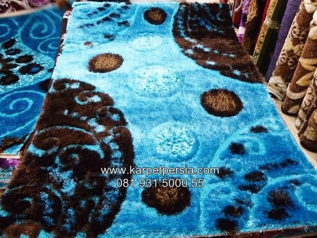 Karpet Bulu Shaggy Turki Kebumen