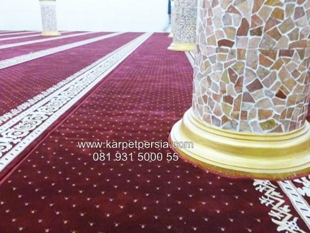 Toko grosir karpet sajadah masjid polos spesial ramadhan