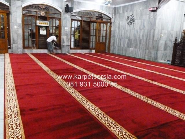 harga karpet masjid roll merah maroon jakarta
