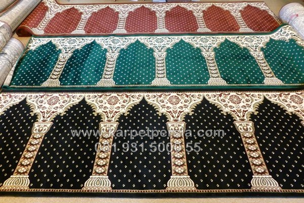 Karpet Sajadah Masjid Motif Pilar, Why Not?