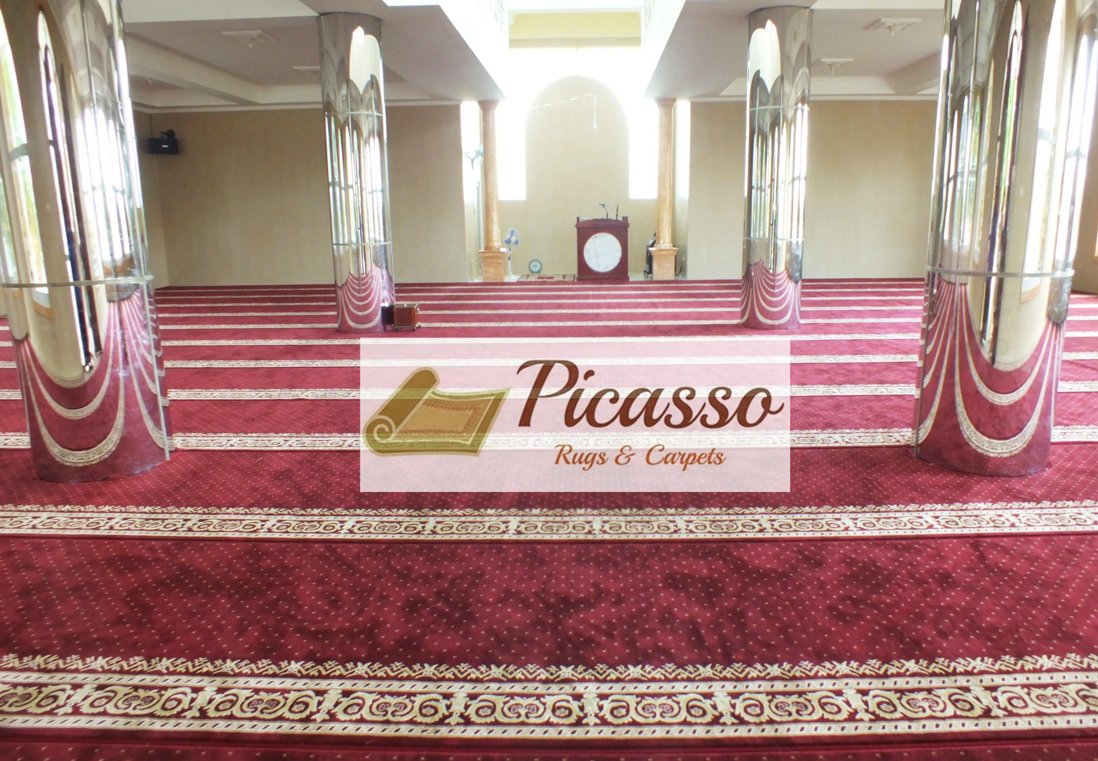 Toko Karpet Masjid di Bandung? Tak perlu Pusing, ke Picasso Rugs And Carpet Aja!