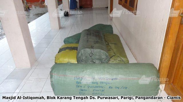 Karpet Masjid Hijau Pangandaran