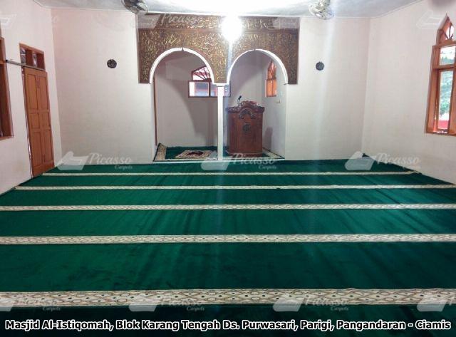 Karpet Masjid Al Istiqomah Pangandaran