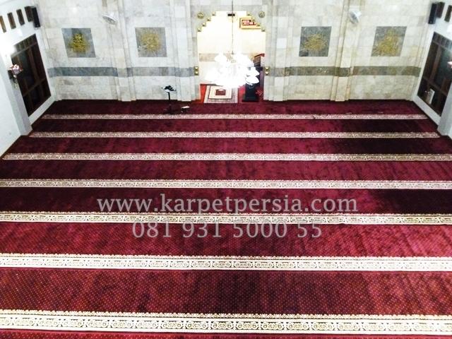 Bontang! Jangan Lewatkan Penawaran Spesial Karpet Sajadah Masjid Dari Picasso Rugs and Carpets!