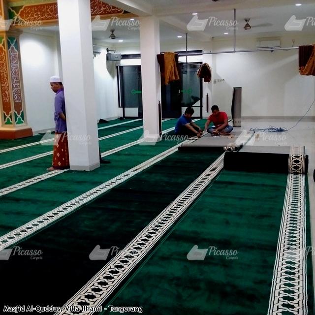 Karpet Masjid Hijau Tangerang