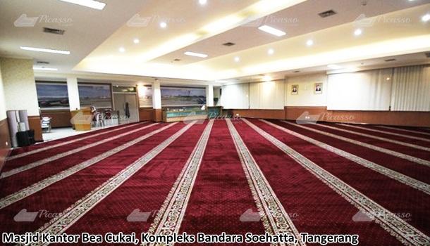 Karpet Masjid Kantor Bea & Cukai Bandara Soekarno –Hatta