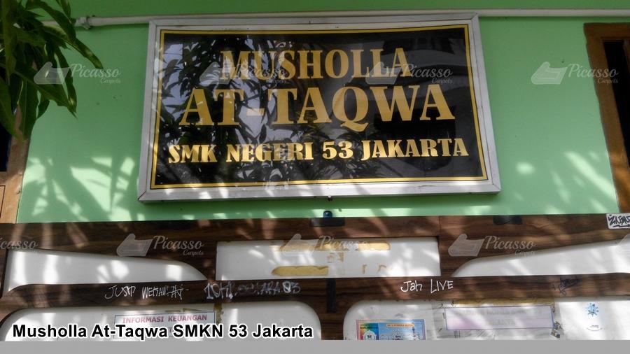 Musholla At – Taqwa SMKN 53 Jakarta