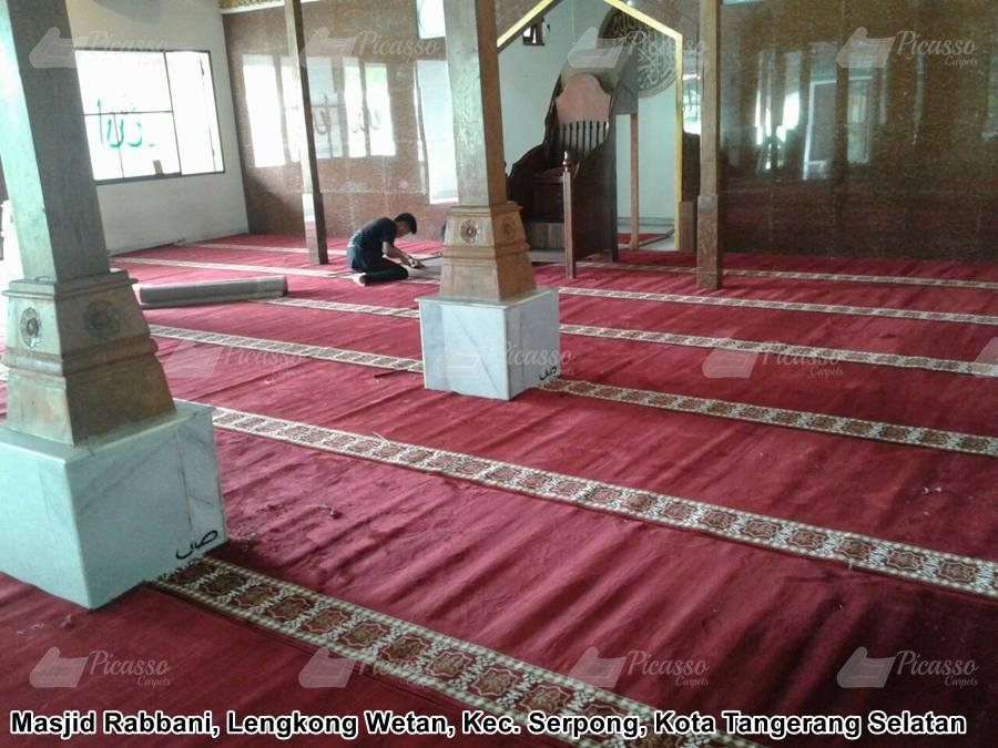 Karpet Masjid Merah Tangerang