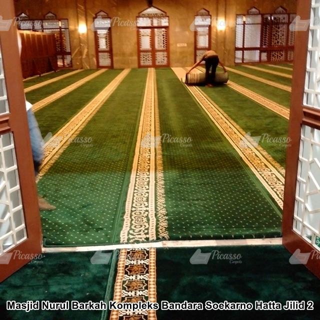 karpet masjid bandara soetta