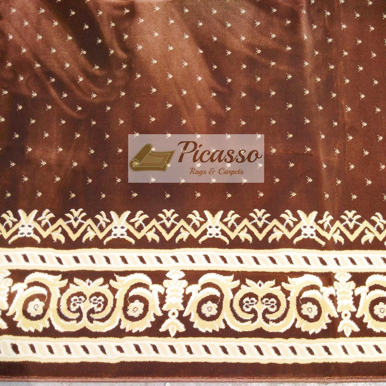 karpet masjid coklat