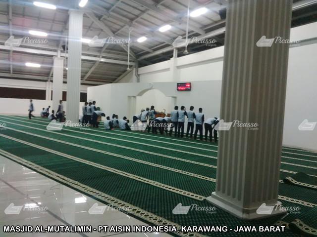 karpet masjid karawang