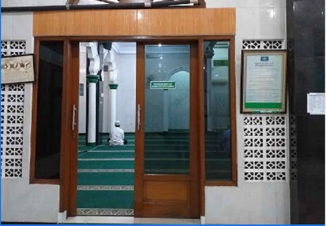 karpet masjid hijau jakarta