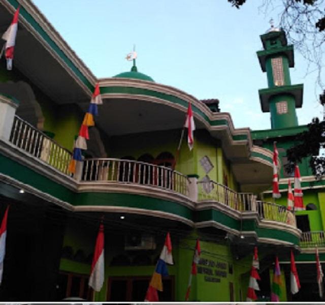 Karpet Masjid Jami Nurul Iman Pasar Rebo